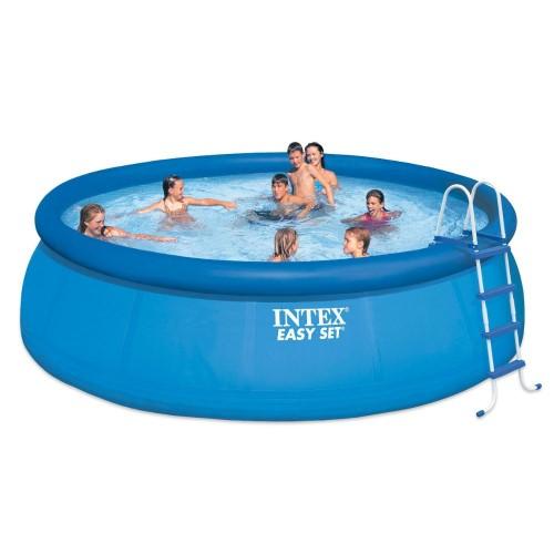 Intex Easy Set Pool Set 15 D X 48 H Easy Set Pools Swimming