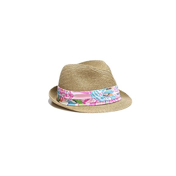 Girls Lilly Pulitzer straw fedora hat. Hard to find cute straw hats for  girls. Target.com Lilly d2633f987d8