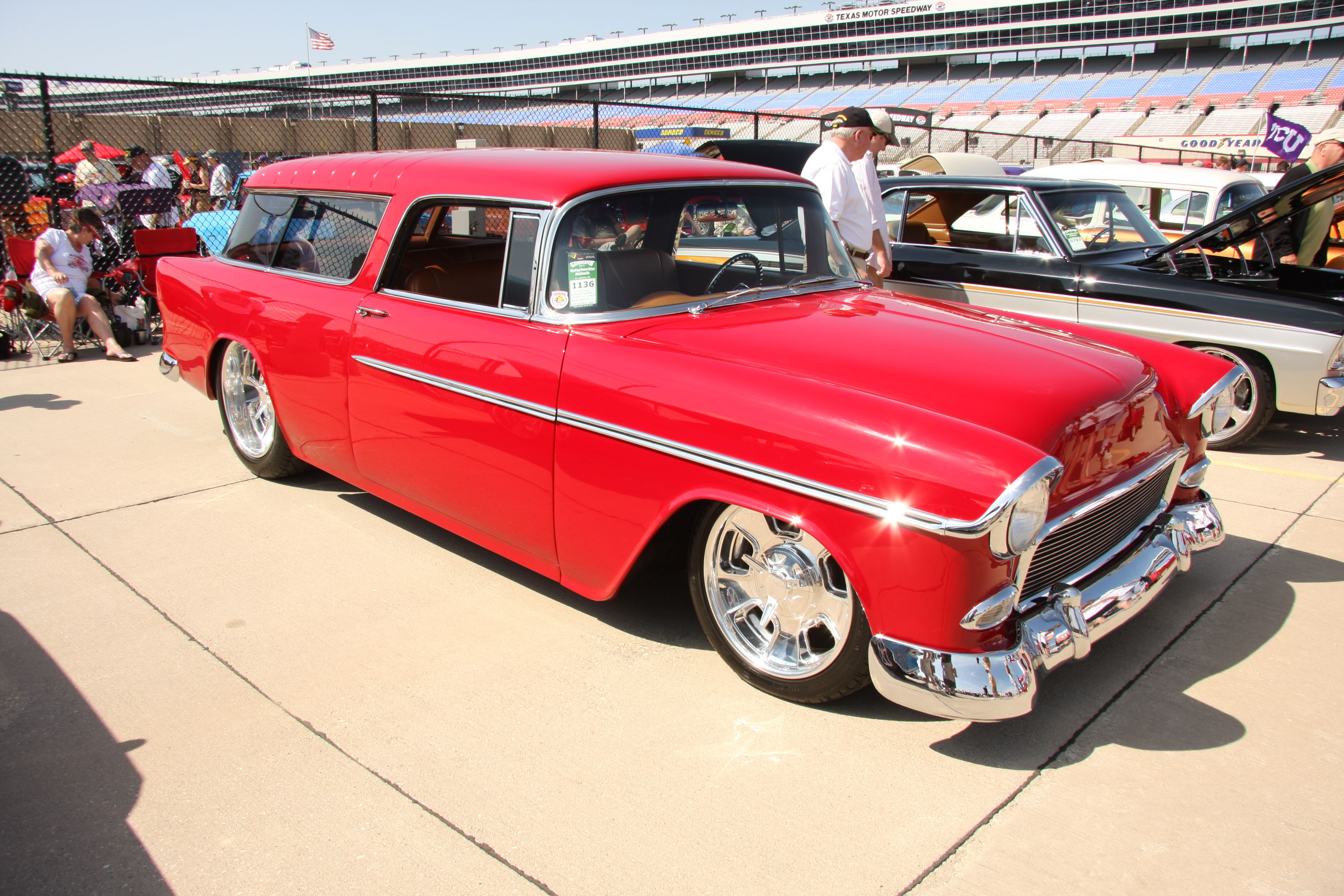 Chevy Nomad Resto Mod W Big Block Pwr Awesome American