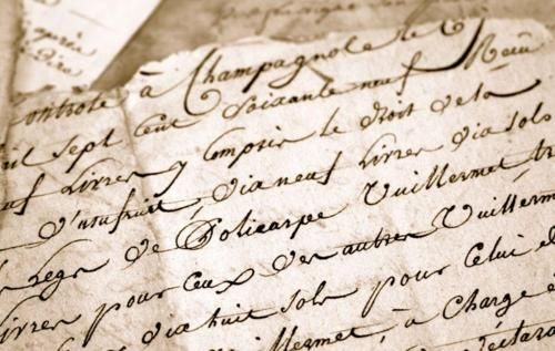 Old Fashioned Handwritten Love Letters