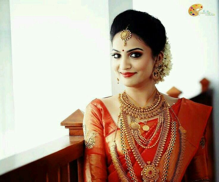 Wedding Hairstyle For Kerala Bride: Pin By Sruthi Baiju On South Indian Bride