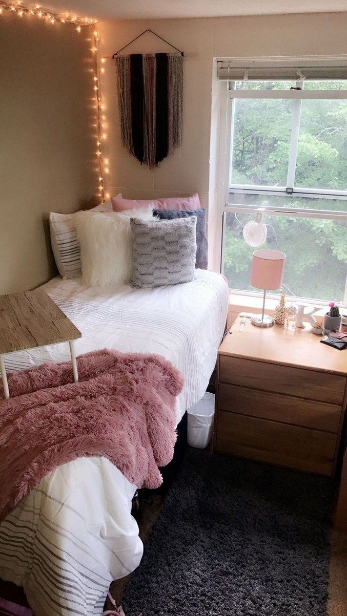 10 Super Gorgeous Dorm Rooms For This Fall #dormroomideas #bedroomideas #bedroomdesign » Out-of-darkness.com #cutedormrooms