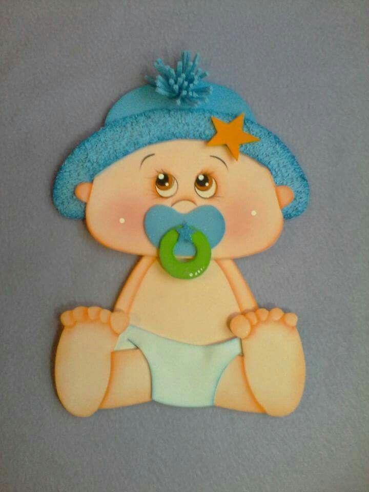 Pin De Yorleny Lopez En Fomy Pinterest Baby Baby Shawer Y Baby - Bebe-de-goma-eva
