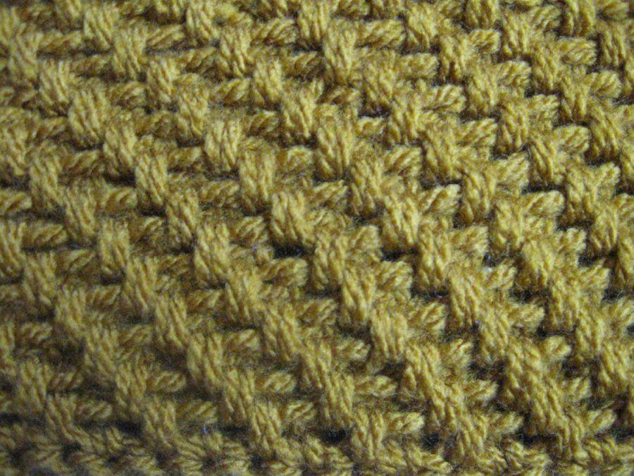Mesh Stitch Crochet Pattern Tutorial Weekend Fun Pinterest