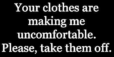 Sex makes me uncomfortable