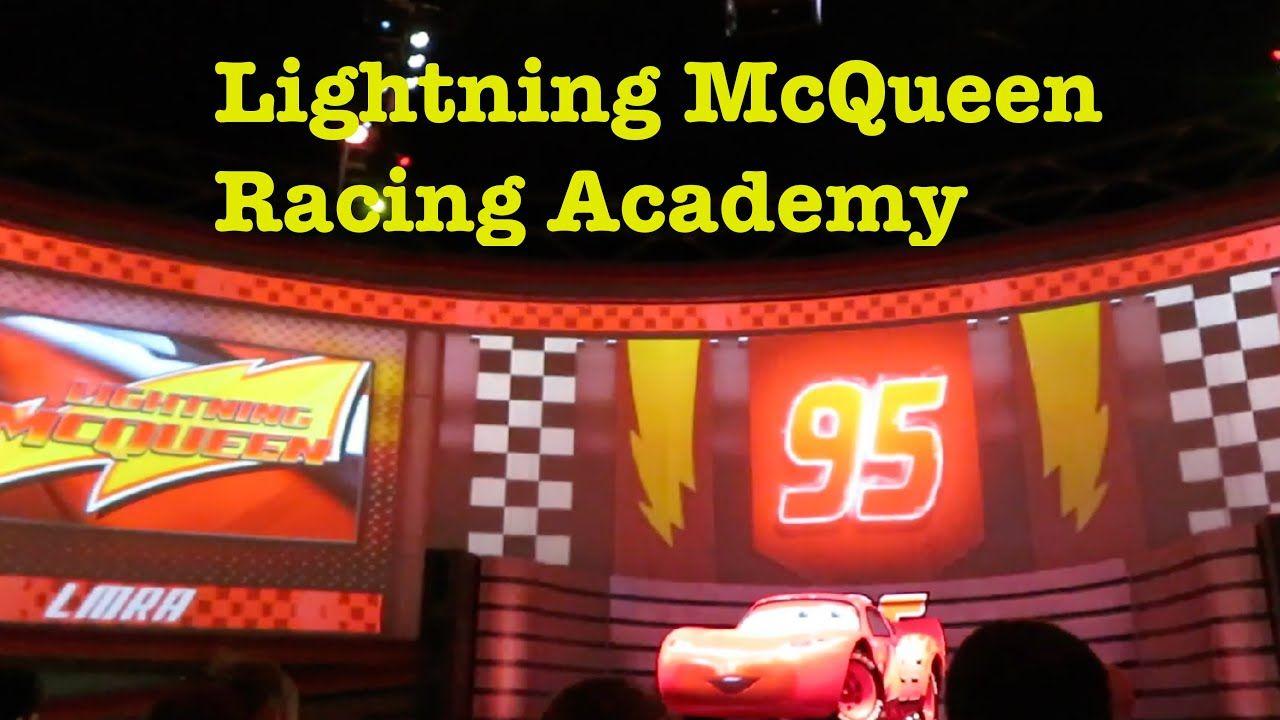 Lightning Mcqueen S Racing Academy Disney Cars Party Hollywood Studios Disney Lightning Mcqueen