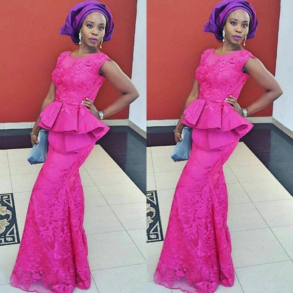 Perfecto Trajes De Boda De Nigeria Embellecimiento - Colección de ...