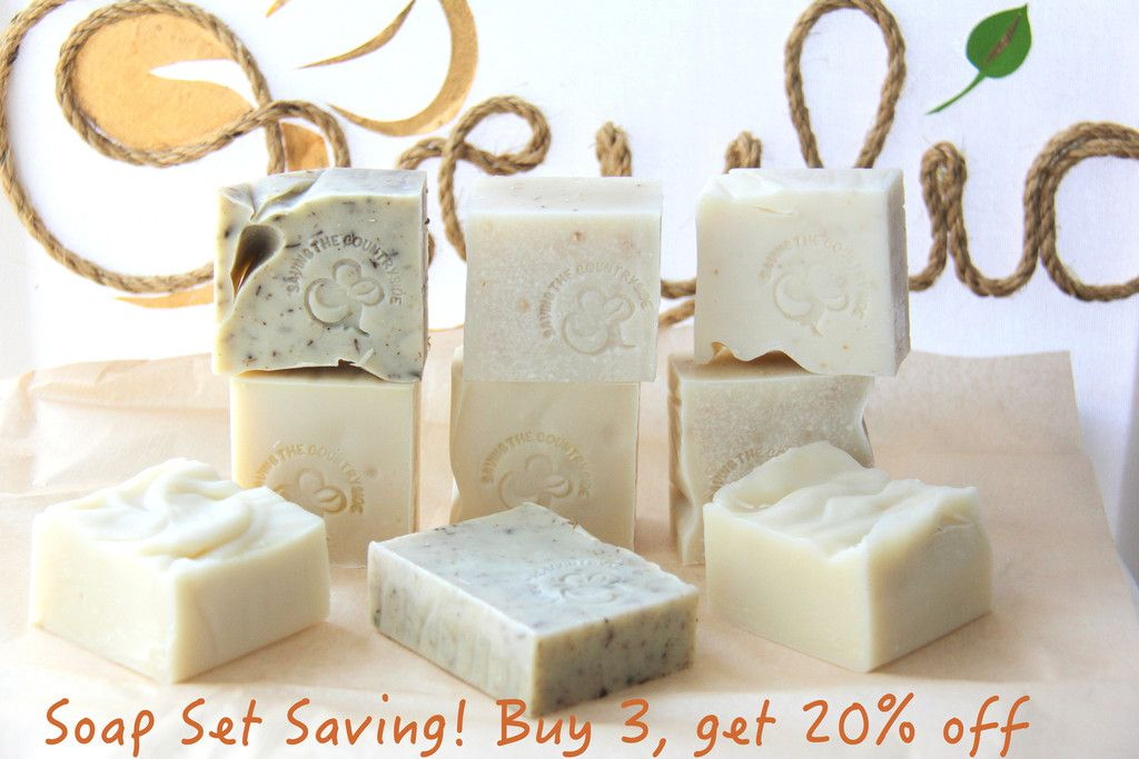 Soap Set Saving!  20% off, now