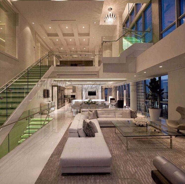 Ultra Modern Mansion Mansion Interior House Design Modern Houses Interior