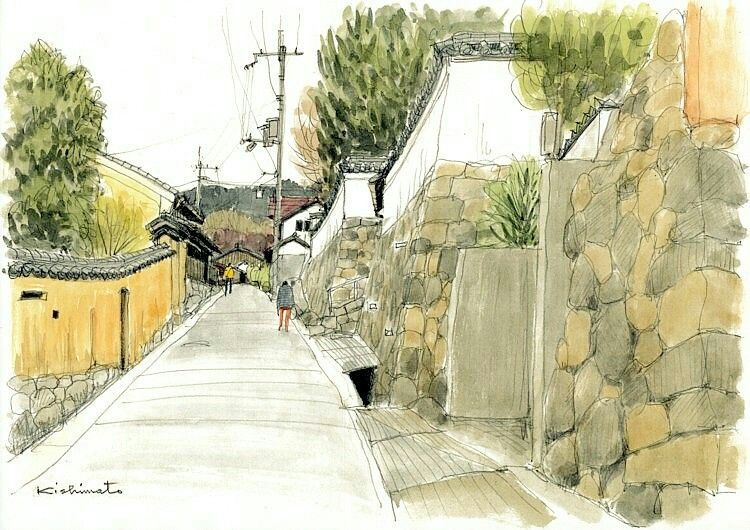 pin by catherine lefort kieffer on هندسه urban sketching architecture sketch architecture drawing