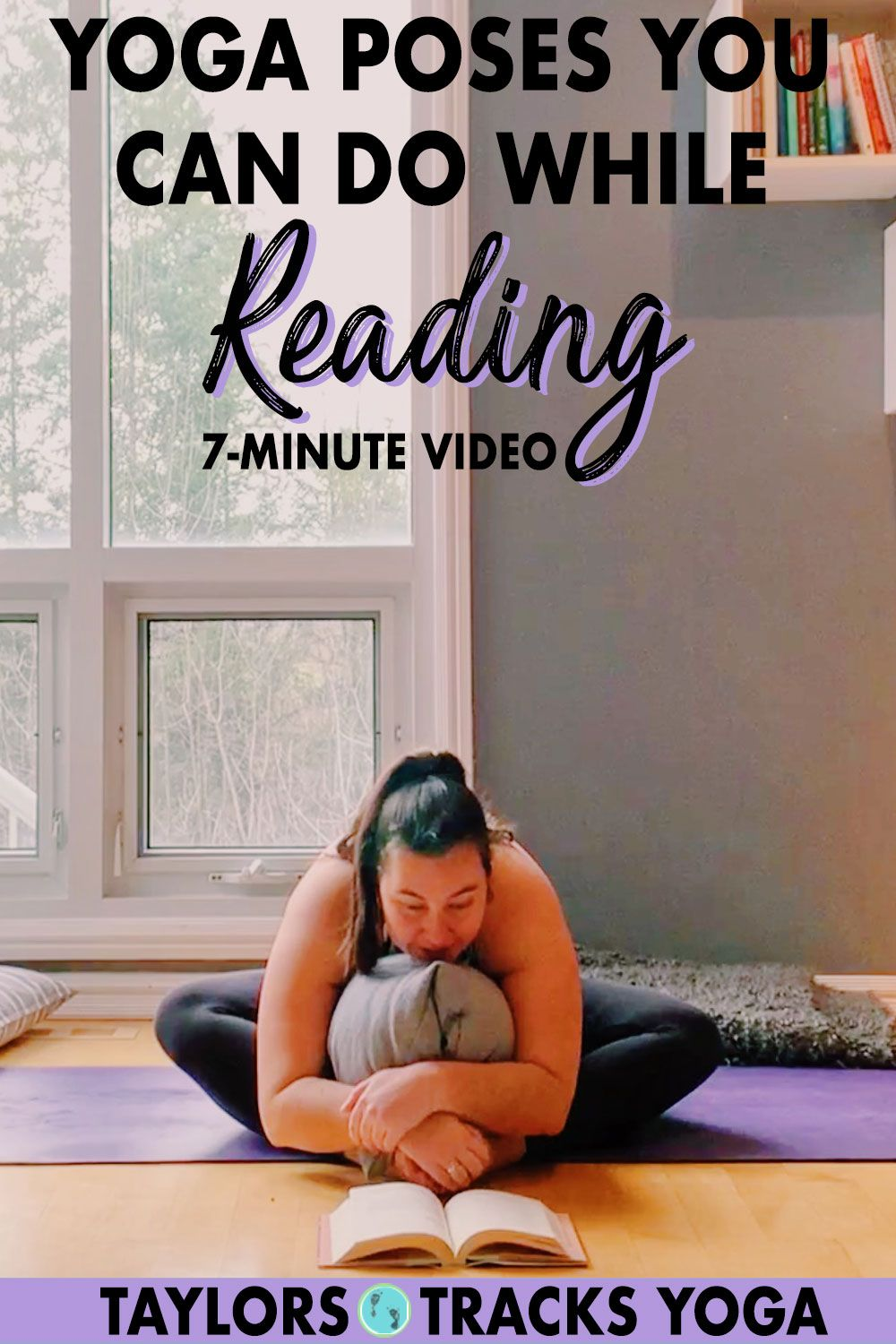 Yoga Poses You Can Do While Reading