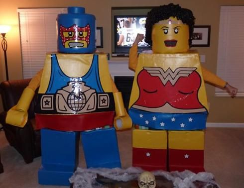 how to build a lego costume