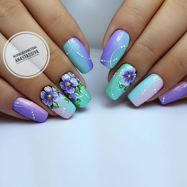 Pin by Елена Рягузова on ногти | Pinterest | Easter nails and Nail nail