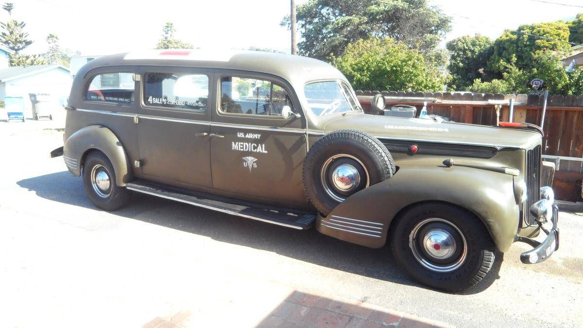 1941 Packard Henney Army Ambulance for sale   Hemmings Motor News