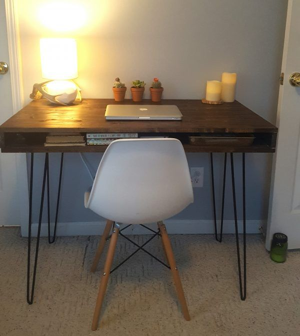 Luxury This DIY mid century modern desk is low profile but ultra stylish I love the way they decorated it too HD - Review ultra modern furniture Minimalist