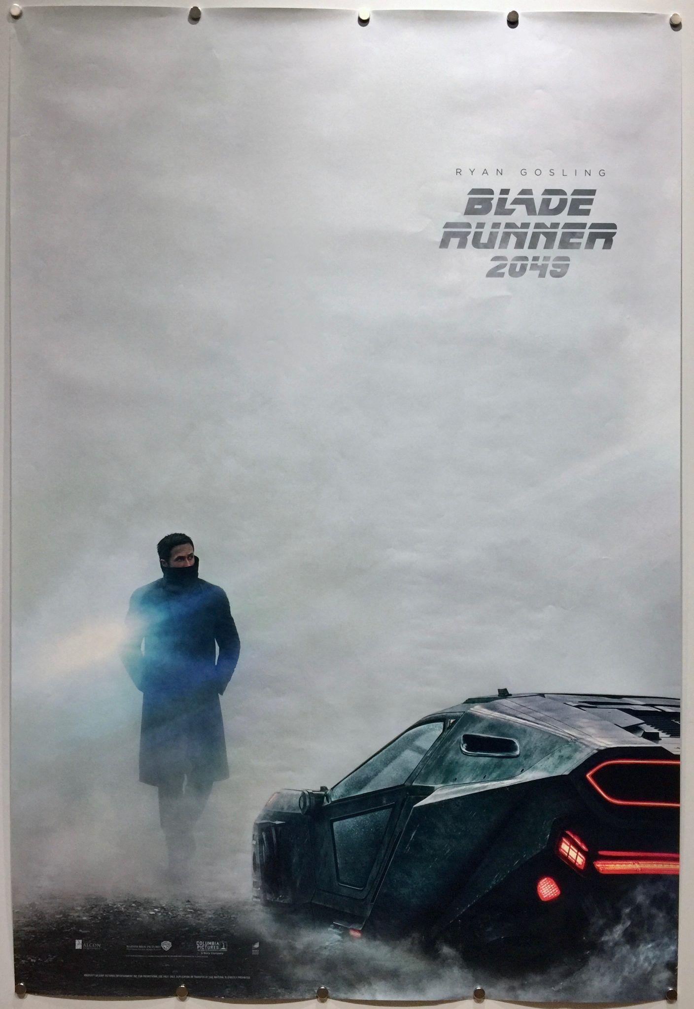 Blade Runner 2049 Uk Movie Poster Denis Villeneuve Sequel With Harrisonford Ryangosling Teaser Design By Blade Runner Movies By Genre Blade Runner 2049
