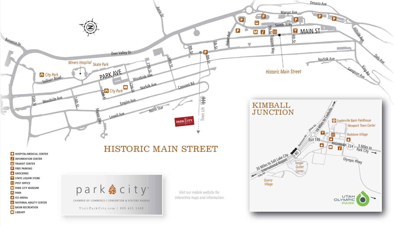 "Park City ""Historic Main Street Map"" PDF"