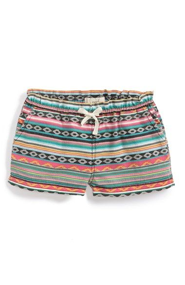 Peek 'Tida' Cotton Shorts (Toddler Girls, Little Girls & Big Girls) available at #Nordstrom