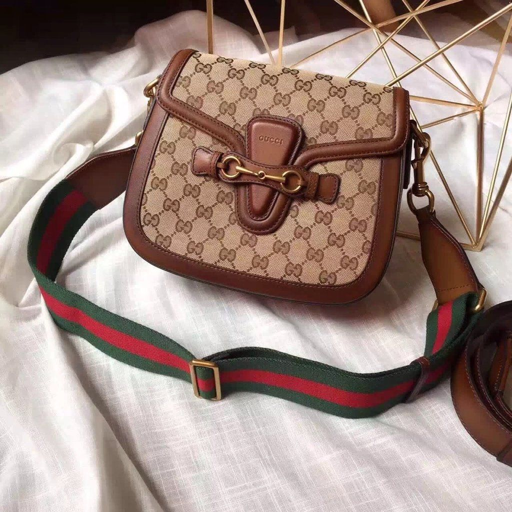 Gucci Lady Web Original GG canvas bag for sale at https://www ...