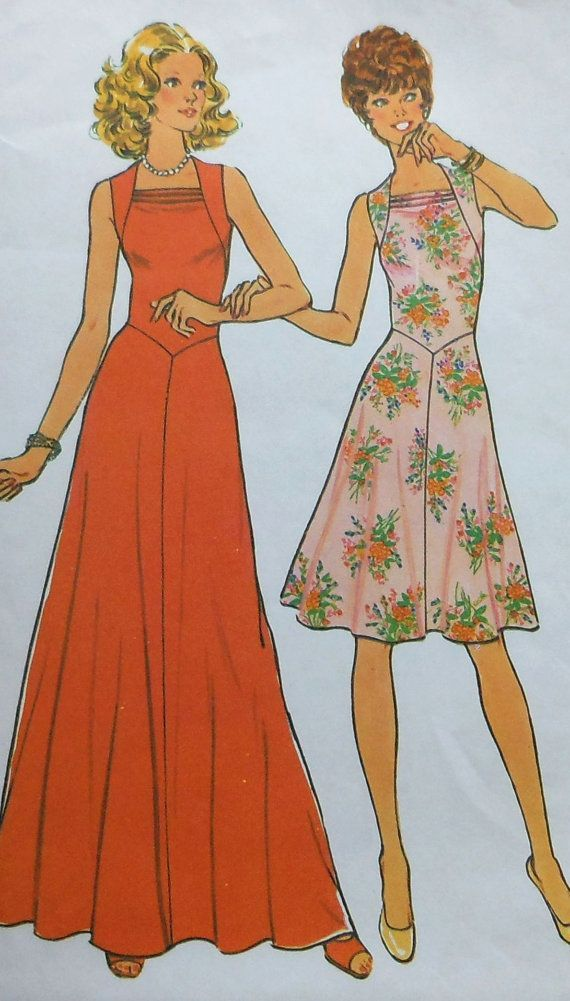 Vintage Gown and Dress Sewing Pattern | Sew Much Fun! | Pinterest ...