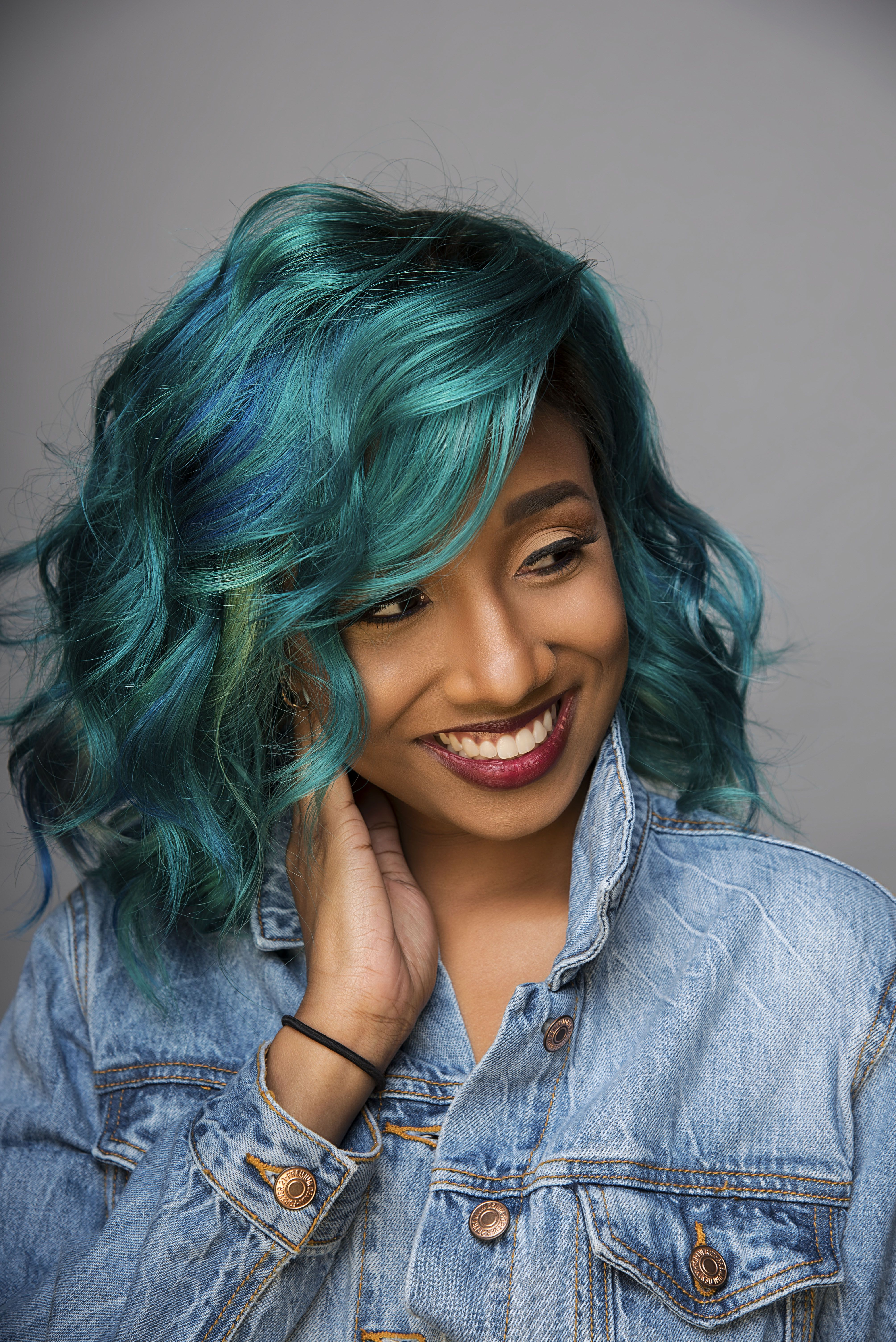Pin by Influance Hair Care on Emerald Green Magic hair