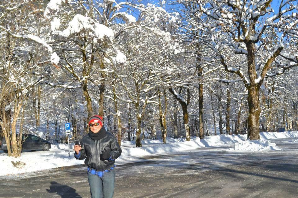 SNOWY LINDENHOFF IN GERMANY