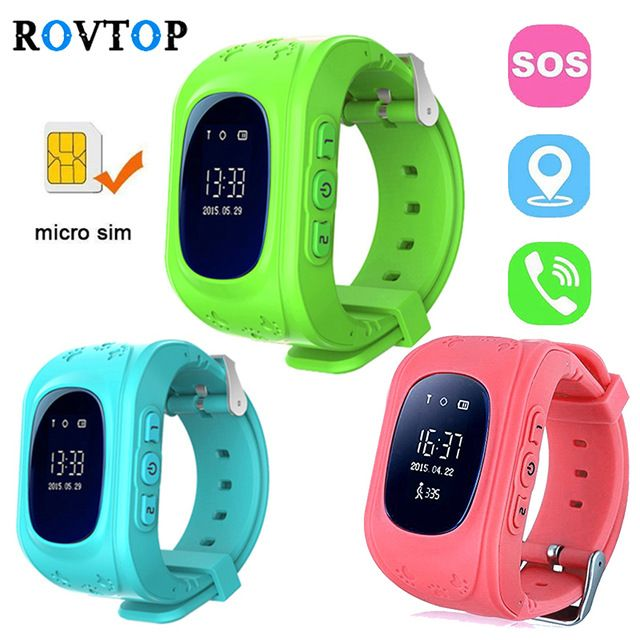 Rovtop Q50 Smart Watches for Children Kids Baby GPS