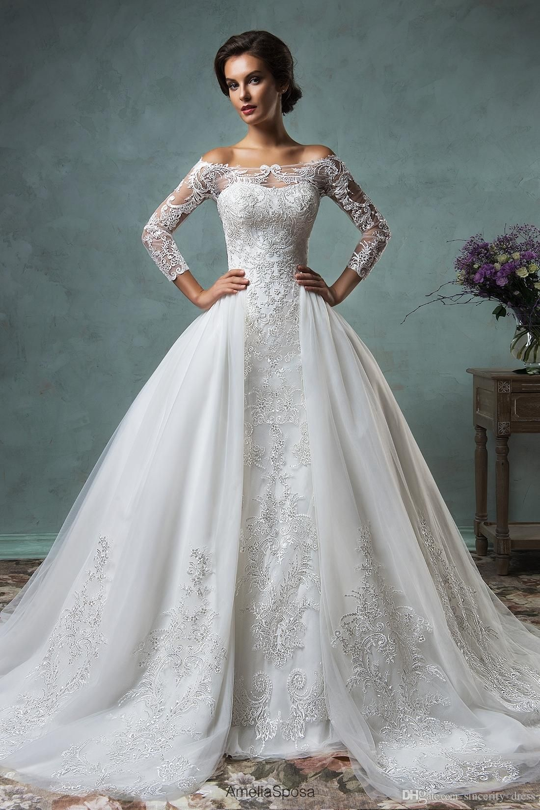 Plus size bling wedding dresses  Luxury  Bling Michael Cinco Wedding Dresses Ball Gown Tiered