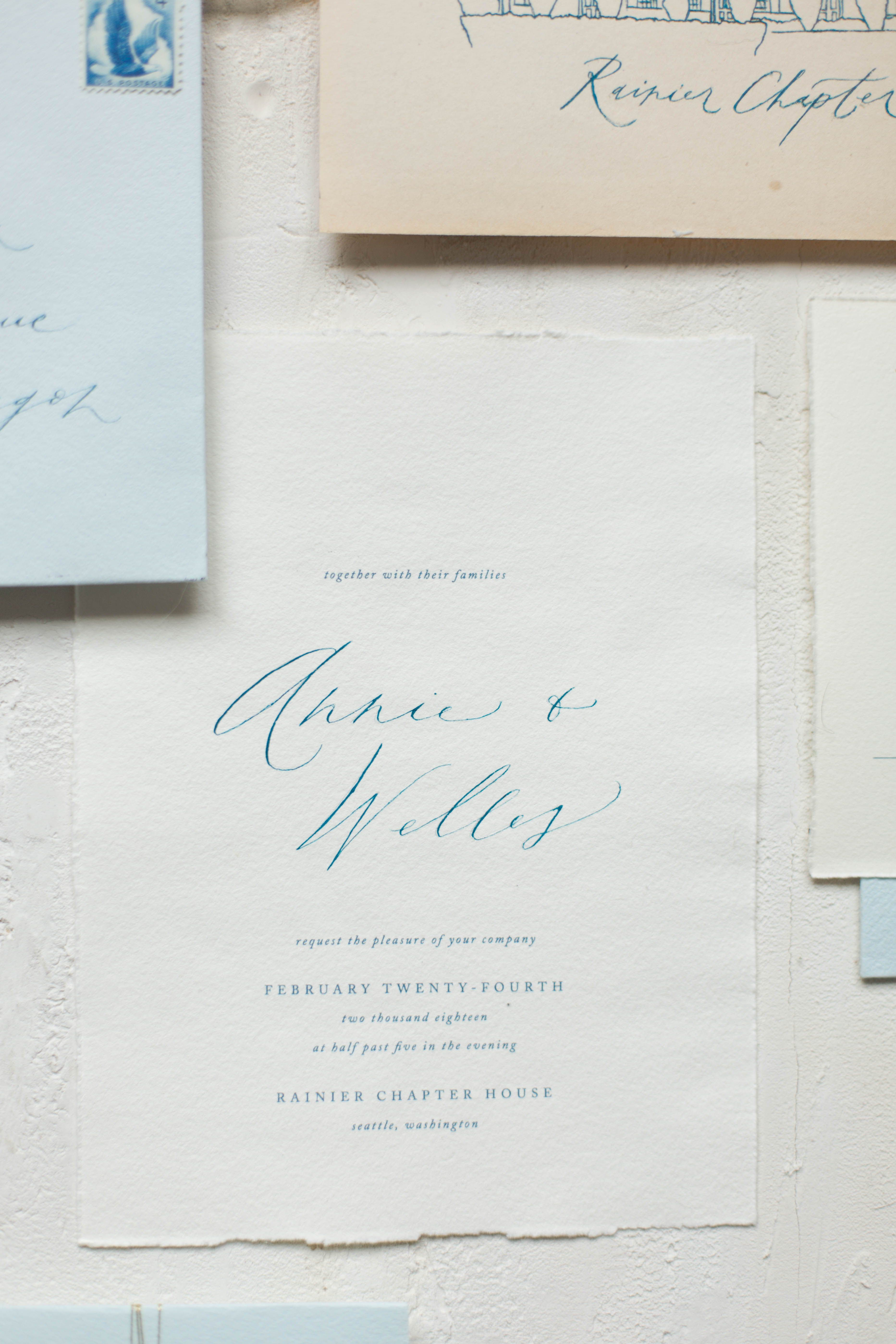 Fine Art Wedding Suite For A Rainier Chapter House Styled Shoot In