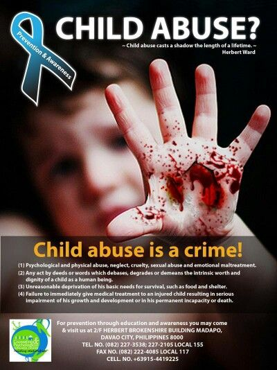 child abuse and crime