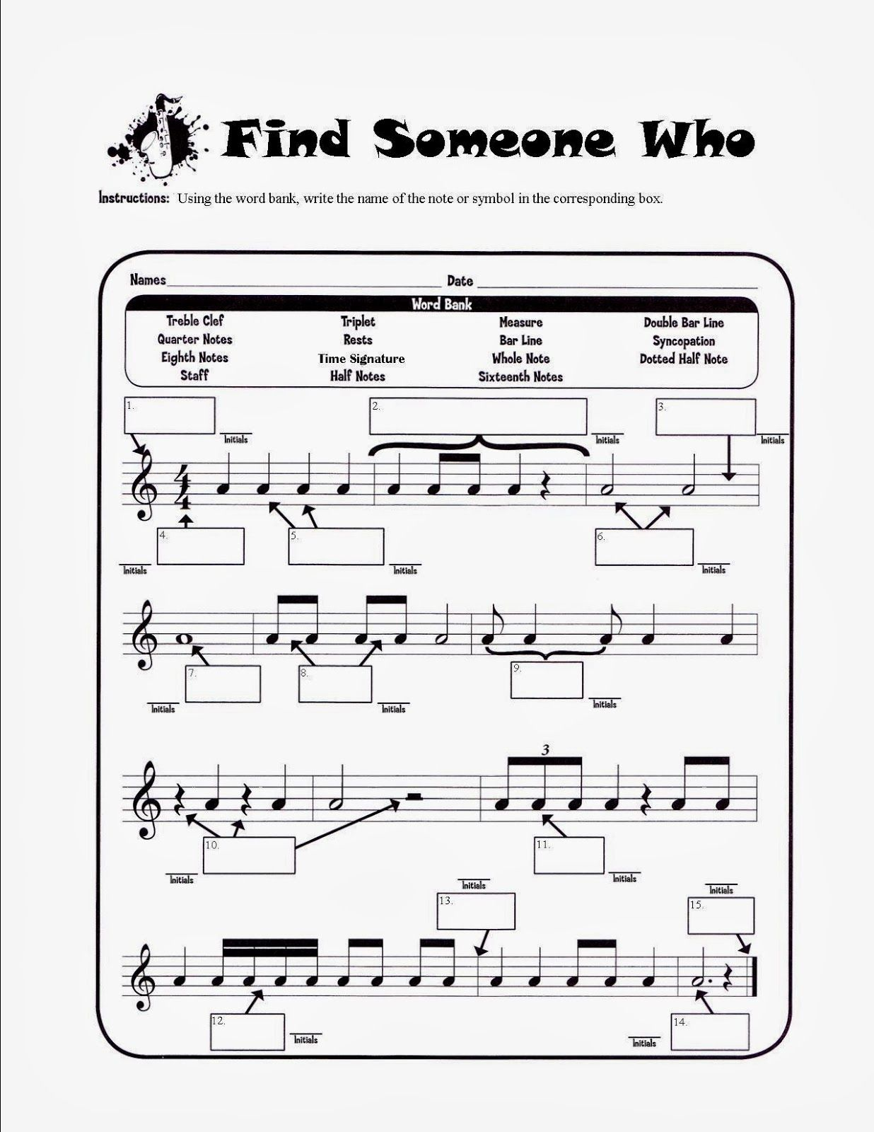 worksheet Note Name Worksheets 17 best images about piano lessons free music theory worksheets on pinterest lesson plans and keyboard