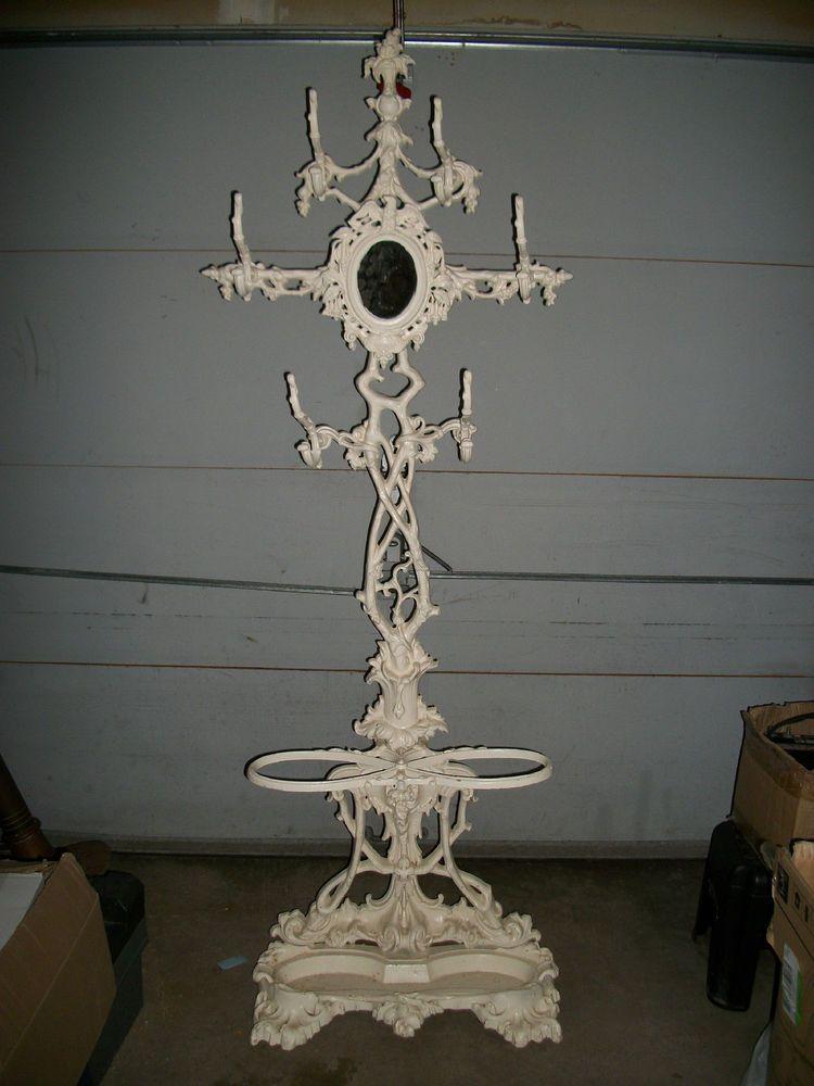 Luxury Wrought Iron Hall Tree