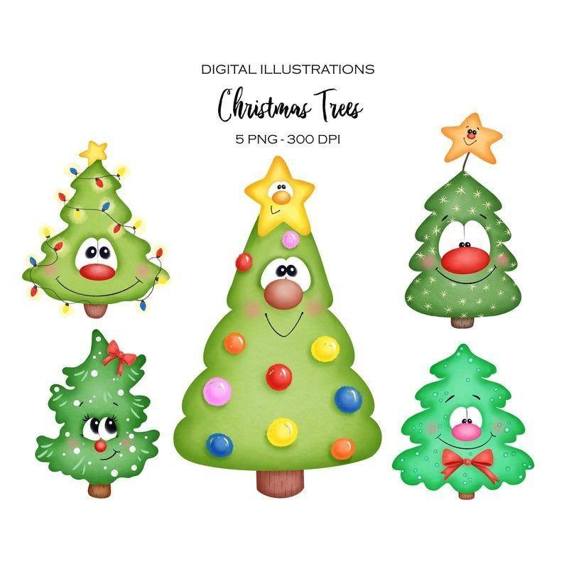 Roses Klipart I Illyustracii 1000 Cartoon Christmas Tree Christmas Tree Clipart Christmas Drawing
