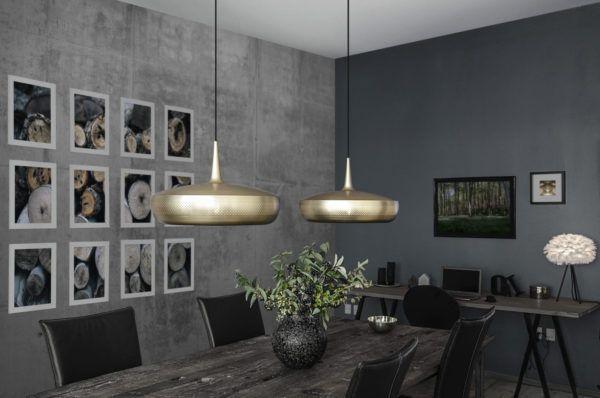vita copenhagen luminaires lampes clava laiton salle  manger