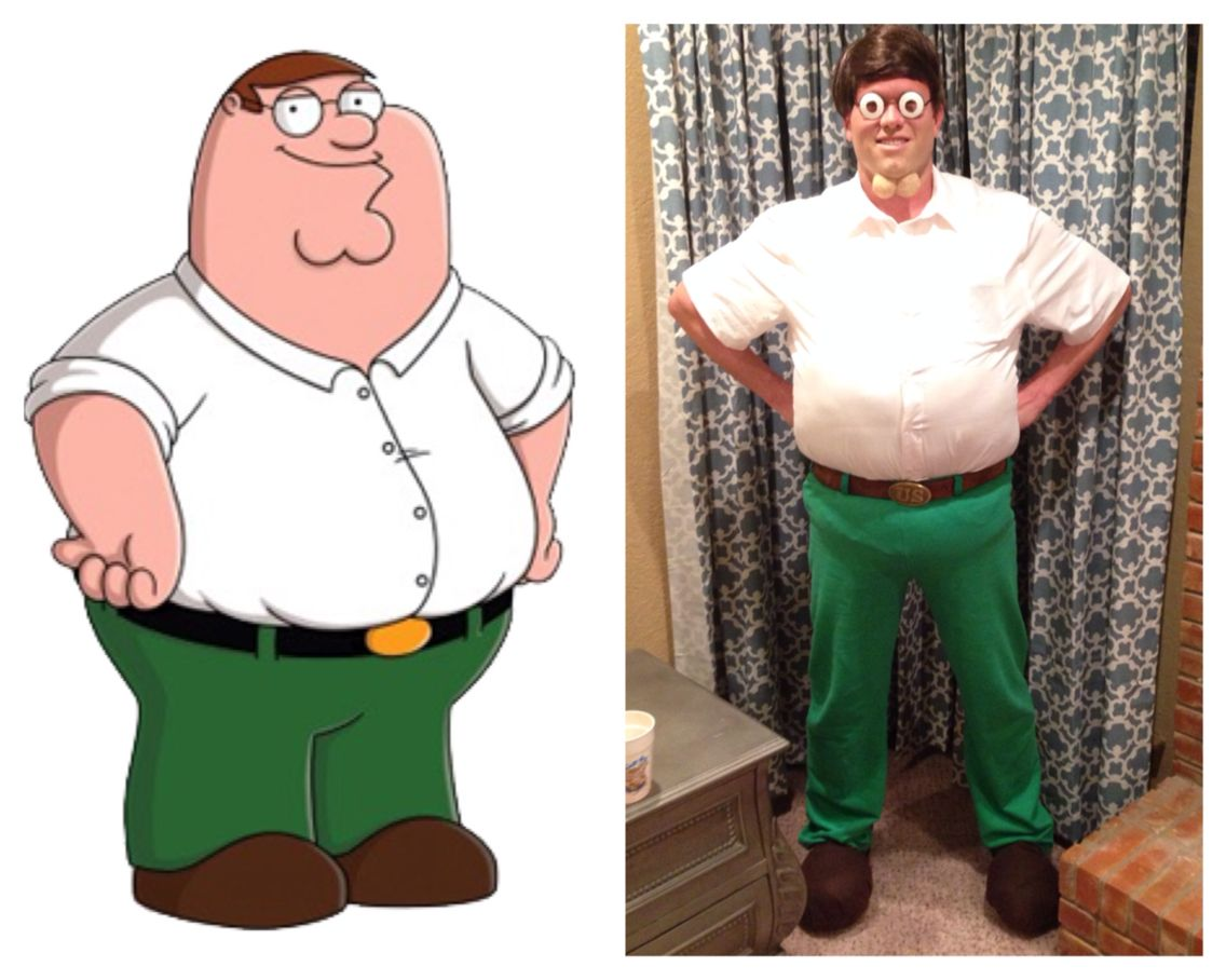 LOUIS AND PETER GRIFFIN HALLOWEEN COSTUME | HALLOWEEN | Pinterest ...