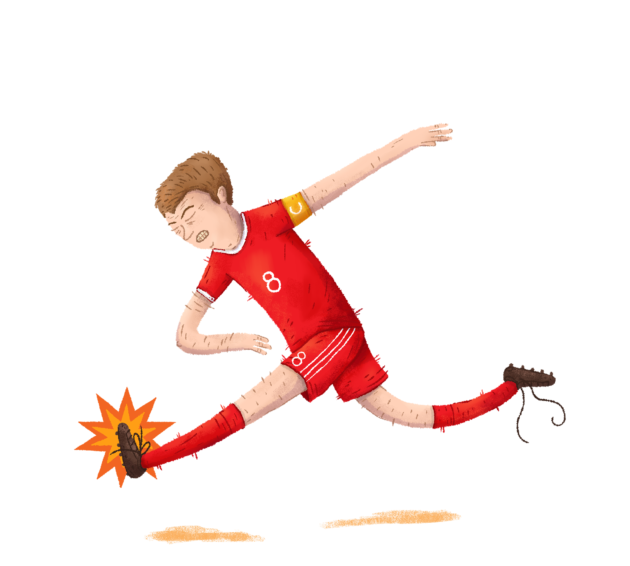 Gerrard, Liverpool #THEBIGFOOT #FOOT #FIFA #PES #PS4 #XBOX #JEUX #JEUXVIDEO #SOCCER #GERRARD #ANGLETERRE #ENGLAND #LIVERPOOL #REDS #STEEVIEG #DESSIN #ILLUSTRATION