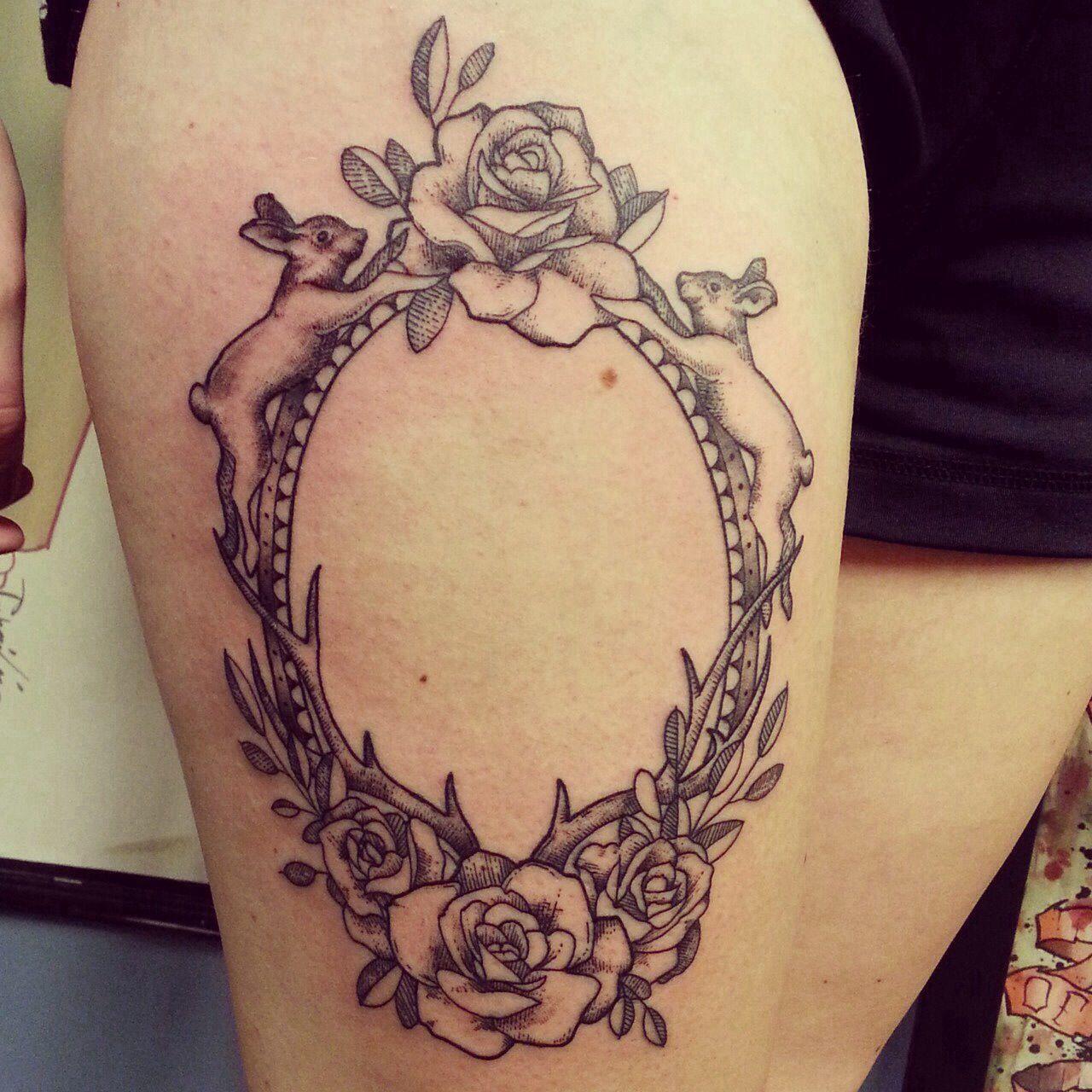Frame tattoo | Tattoo | Pinterest | Rahmen