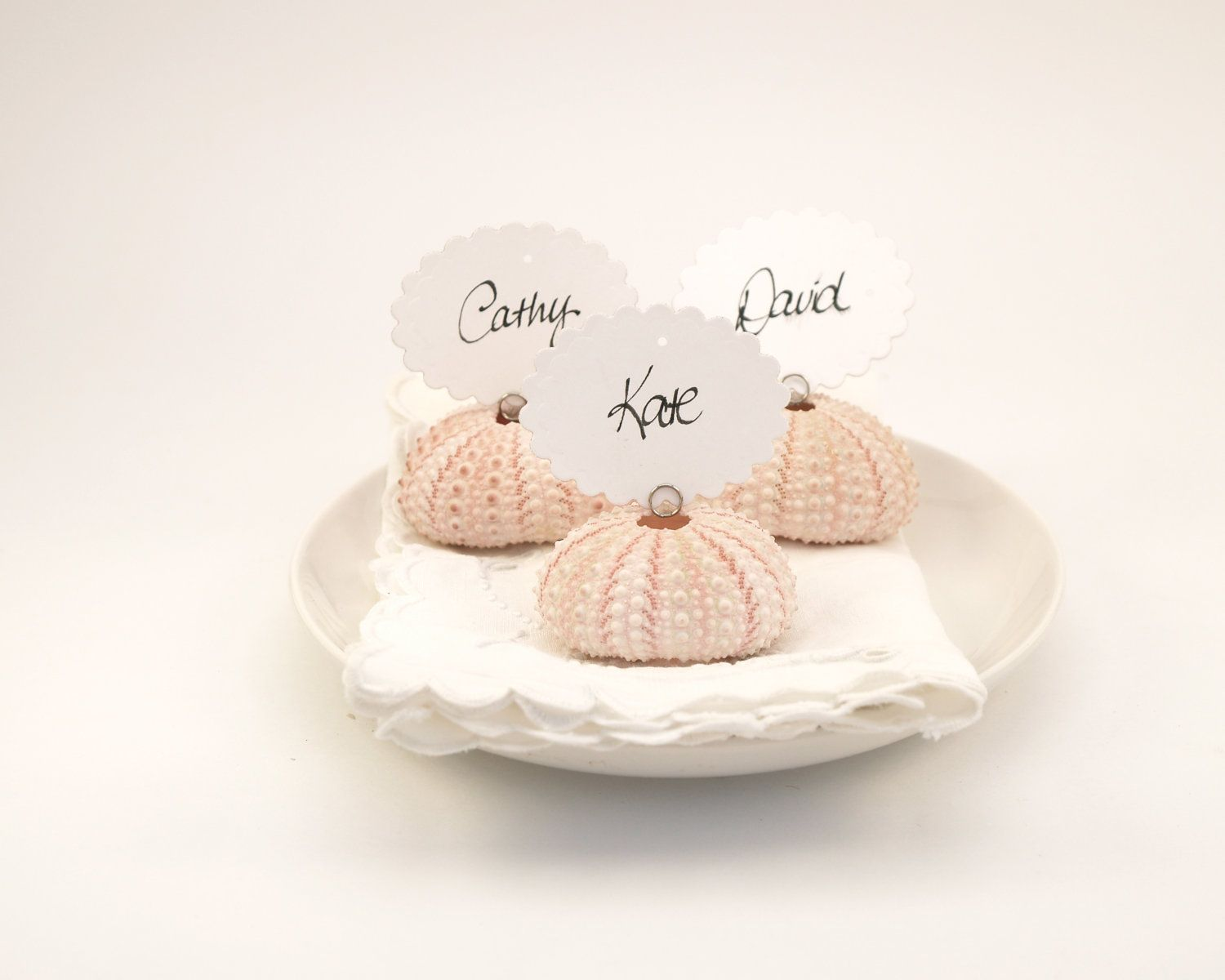 Custom Order For Kirsten 25 Shell Place Cards Add 2 Extra