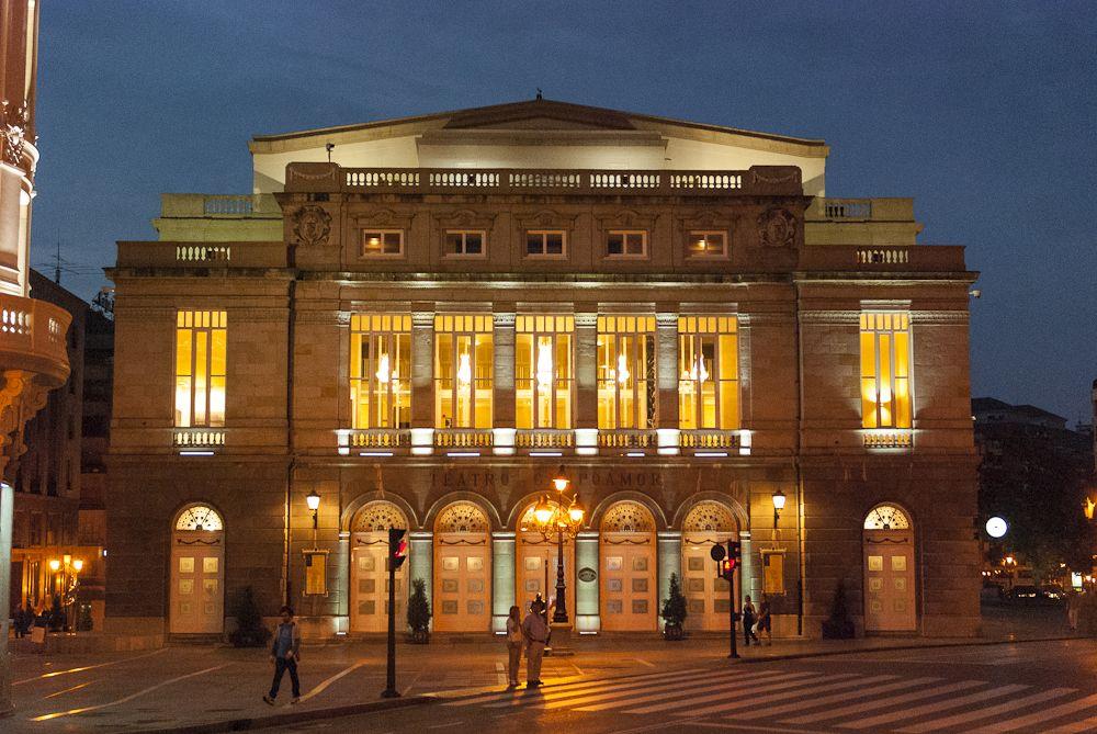 Teatro Campoamor Oviedo Oviedo Y Picos De Europa