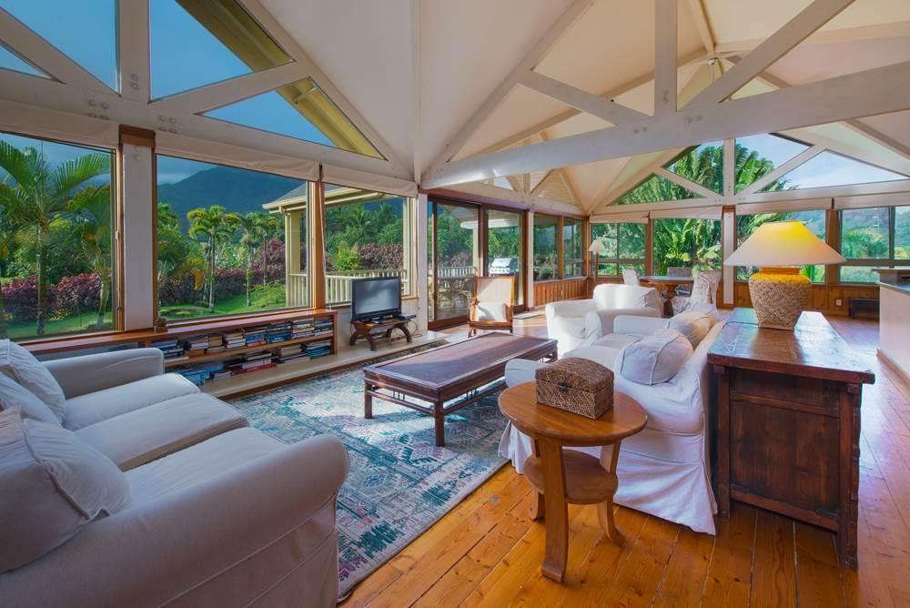taro plantation vacation rental in hanalei north shore kauai