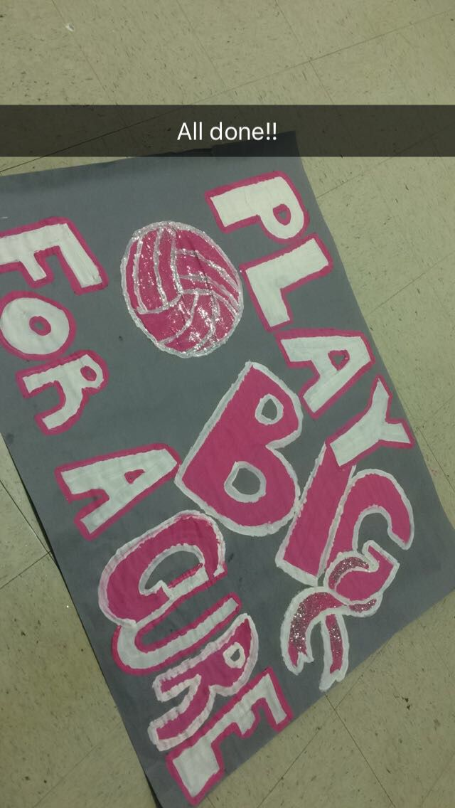 Dig Pink Volleyball Posters Volleyball Posters Dig Pink Dig Pink Volleyball Ideas