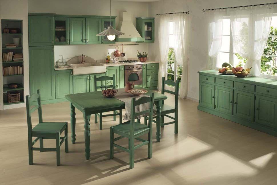 www.mobilificiomaieron.it - 0433775330. Cucina in legno massello ...