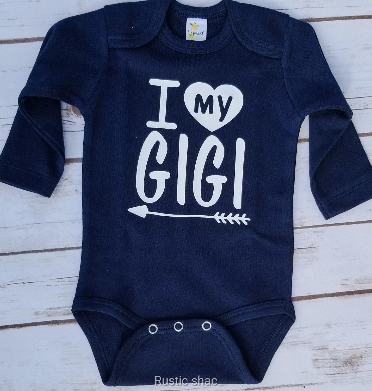 2e0685105 I LOVE my Gigi onesie!! | The Rustic Shac | Onesies, Knitting ...