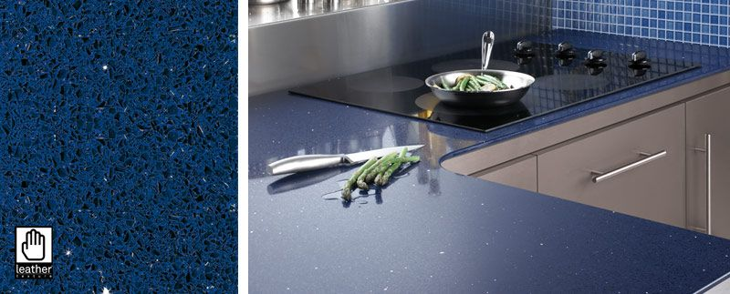 silestone azul stelar kitchen new house ideas pinterest