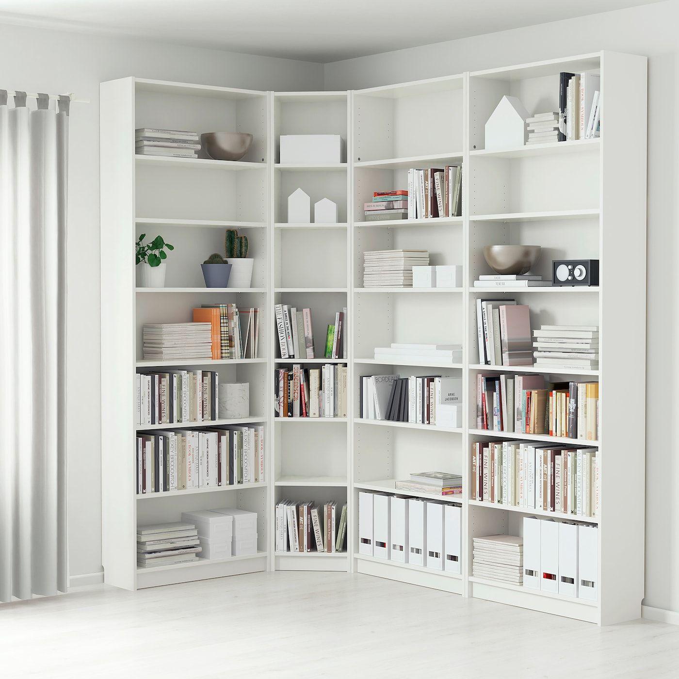 Billy Bookcase White Ikea In 2020 Billy Bucherregal Ikea Bucherschrank Bucherregal Weiss