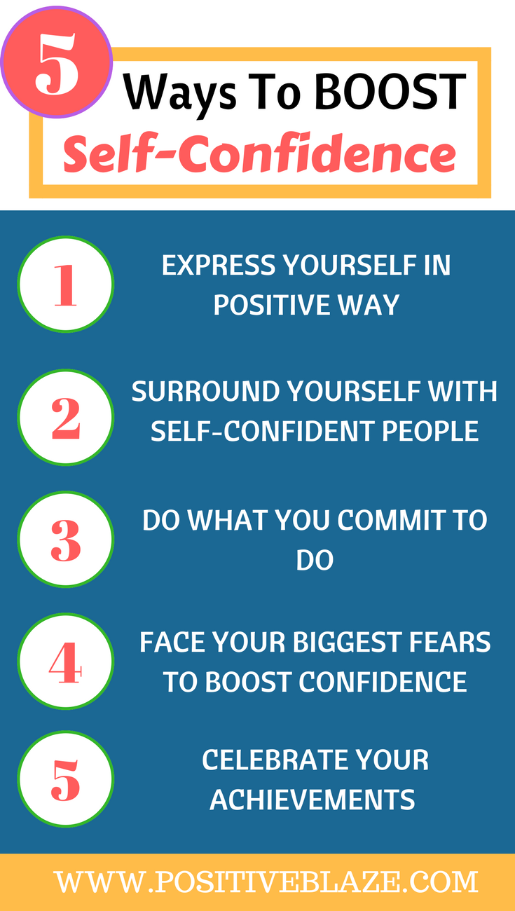 5 ways to build self esteem