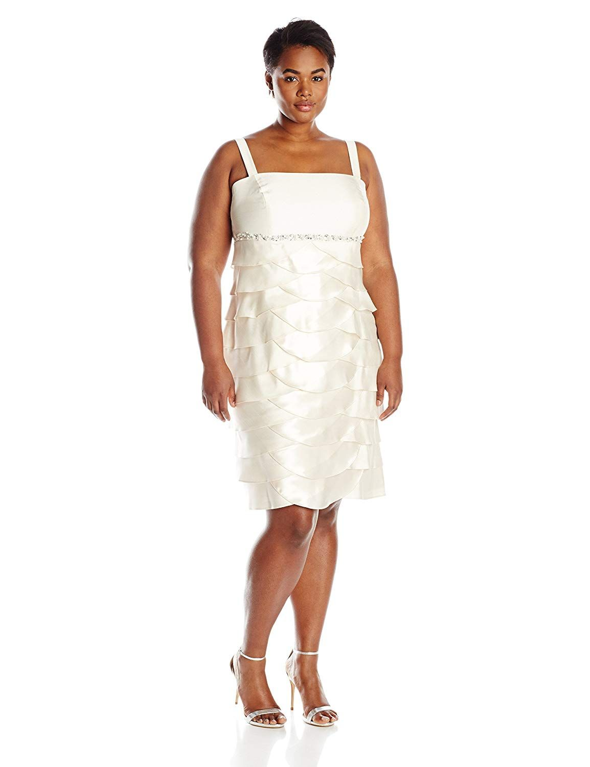 c7bf38f0cc7c Jessica Howard Women's Plus-Size Jacket Dress with Beaded Empire Waist >>>  To view further for this item, visit the image link. (This is an affiliate  link) ...