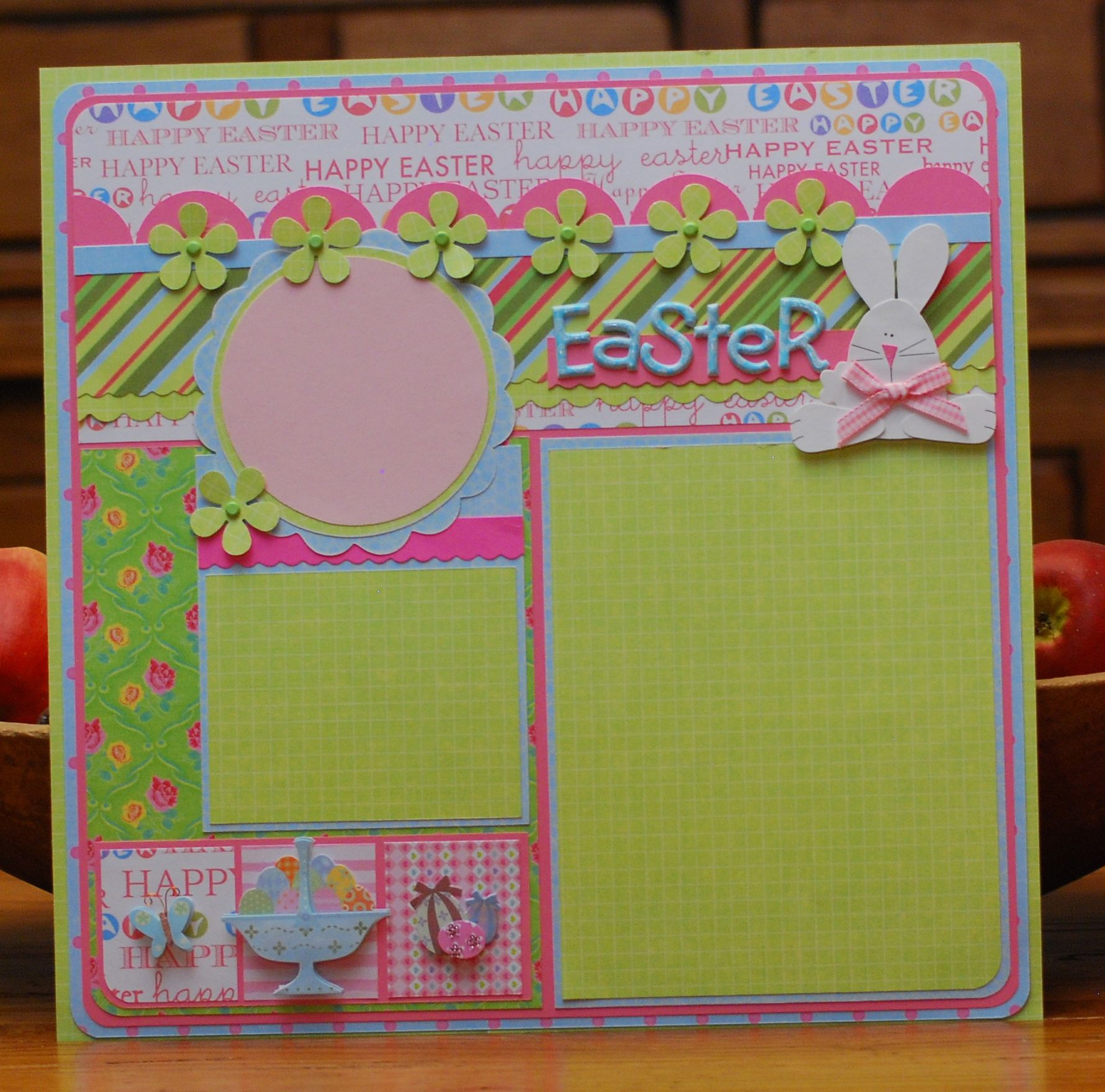 Scrapbook ideas easter