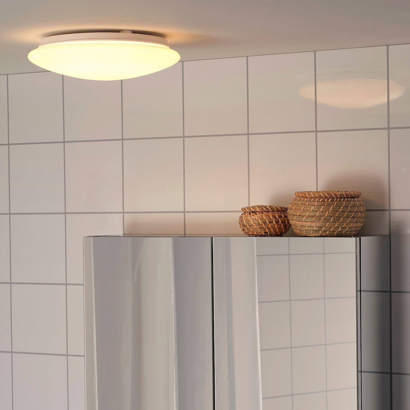 Sjogang Plafonnier Applique Blanc 25 Cm Ikea Blanc Deckenlampe Ikea Plafonnierapplique Sjogang In 2020 Wandlampe Led Wandleuchte