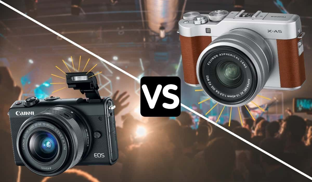 Canon Eos M100 Mirrorless Vs Fujifilm X A5 Mirrorless Camera What You Must Know Camera Photography Photoworkout Fujifilm Camera Tutorial Mirrorless Camera